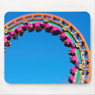 Boomerang Roller Coaster Worlds of Fun, KC Mouse Pad