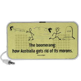 Boomerang Travelling Speakers