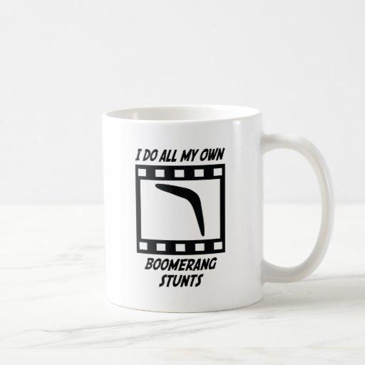 Boomerang Stunts Classic White Coffee Mug