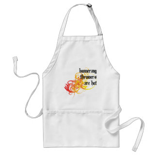 Boomerang Throwers Are Hot Adult Apron