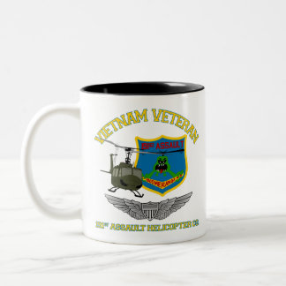 Boomerangs Vietnam (Pilot Wings) Two-Tone Coffee Mug