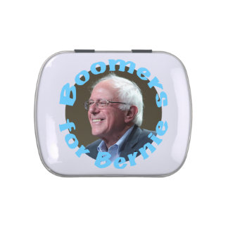 Boomers for Bernie Jelly Belly Tin