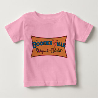Boomerville Shop-a-Rama Logo Gear Baby T-Shirt