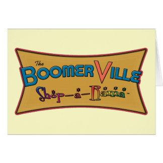 Boomerville Shop-a-Rama Logo Gear Card