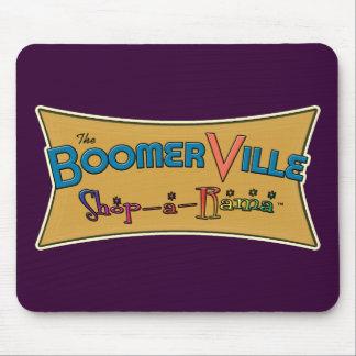 Boomerville Shop-a-Rama Logo Gear Mouse Pad