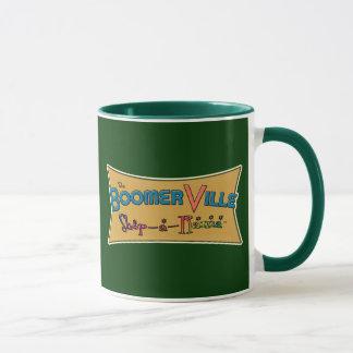 Boomerville Shop-a-Rama Logo Gear Mug