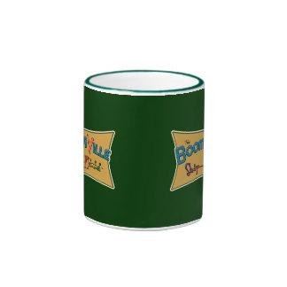 Boomerville Shop-a-Rama Logo Gear Ringer Coffee Mug