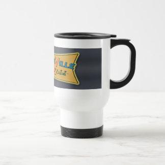 Boomerville Shop-a-Rama Logo Gear Travel Mug