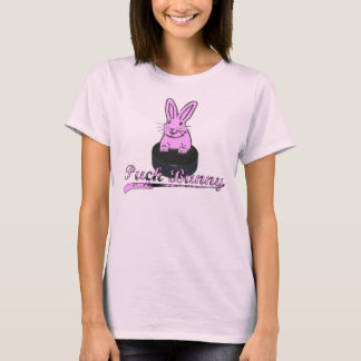 #BOOMNASTY Hockey Puck Bunny T T-Shirt