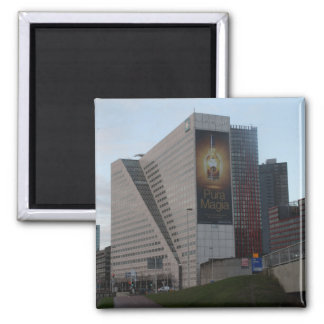 Boompjes, Rotterdam 2 Inch Square Magnet