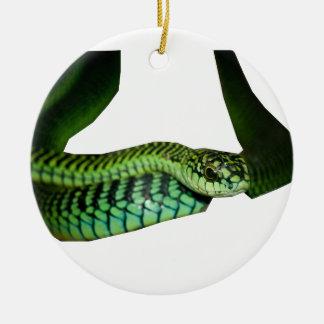Boomslang Ceramic Ornament