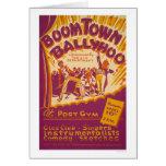 Boomtown Ballyhoo 1941 WPA Card