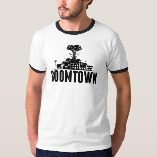 BoomTown Mens Ringer T-Shirt
