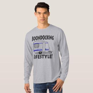 Boondocking Lifestyle Camper Design T-Shirt