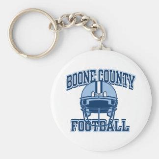 Boone County Football Keyring Basic Round Button Keychain