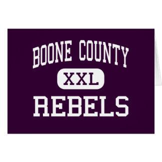 Boone County - Rebels - High - Florence Kentucky Card