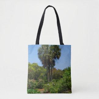 Boone Hall Garden Tote Bag