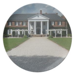 Boone Hall Plantation Charleston SC Plate  sc 1 st  Zazzle & Plantation Plates   Zazzle