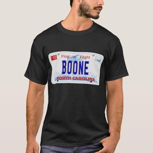 Boone NC Plate T-Shirt