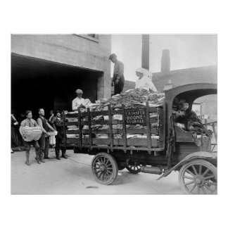 Boone Transfer & Storage Truck: 1910s Poster
