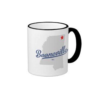 Booneville Mississippi MS Shirt Mugs