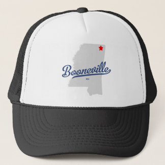 Booneville Mississippi MS Shirt Trucker Hat