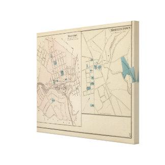 Boonton, Morristown, NJ Lona Envuelta Para Galerías