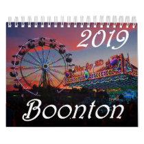 Boonton New Jersey 2019 15-Month Calendar