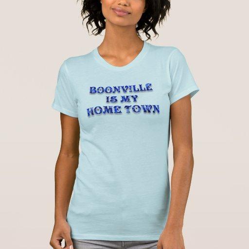 BOONVILLE ES MI HOGAR TOWN-T-SHIRT CAMISETA
