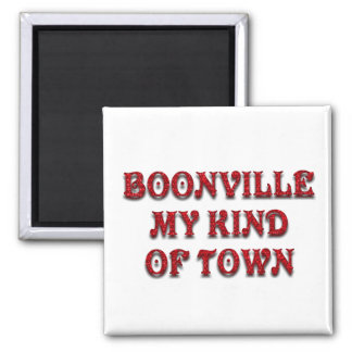 BOONVILLE MY KIND OF TOWN-MAGNET