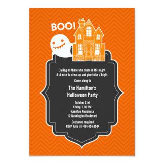 ¡Booo! Invitación del fiesta de Spooktacular Invitación 12,7 X 17,8 Cm