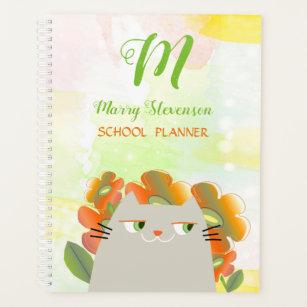 Cute Cat Planners   Zazzle