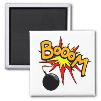 Booom! Square magnet