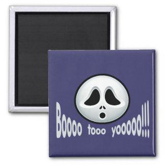 Booooo to Yoooooo!! 2 Inch Square Magnet