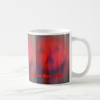 Boooooo, Boooooo, Boooooo, Boo Boo Boo Boo Boo ... Classic White Coffee Mug