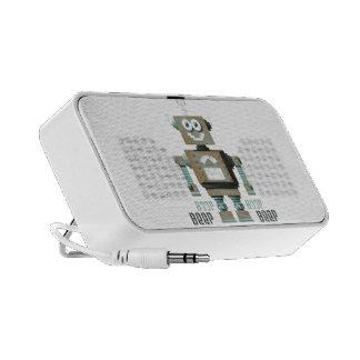 Boop Beep Toy Robot Doodle Speaker