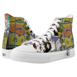 BOOP! Graffiti Fun High-Top Sneakers