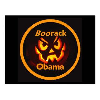 BOOrack Obama Halloween Postal