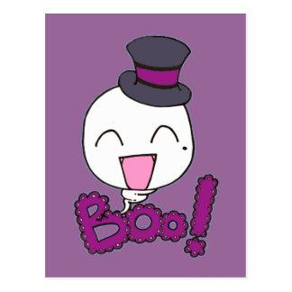 Boo's halloween postcard