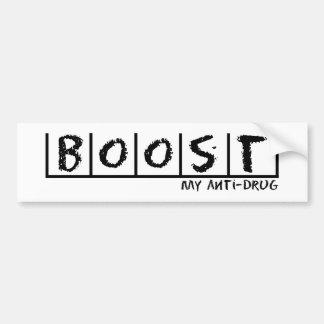 Boost Anti-Drug Bumper Sticker