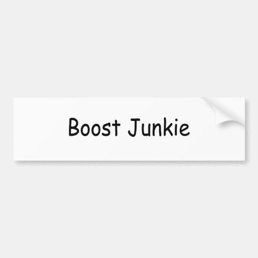 Boost Junkie Car Bumper Sticker