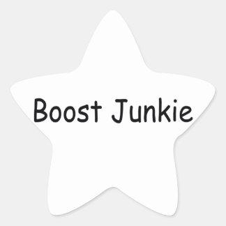 Boost Junkie Star Sticker