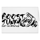 Boost Junky Greeting Cards