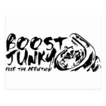 Boost Junky Post Cards