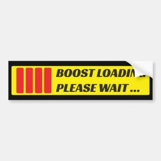 Boost loading, please wait bumper sticker