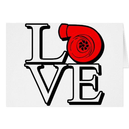 Boost Love Greeting Card