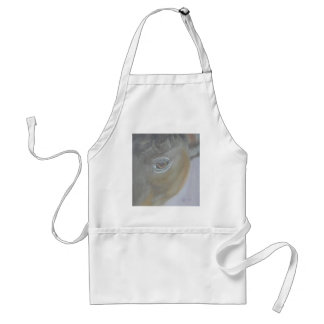 Boost My Ego - Horse Painting Adult Apron