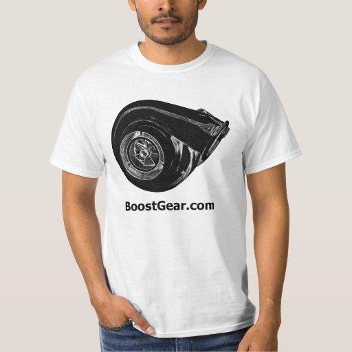 BoostGear.com - camisa grande de Turbo