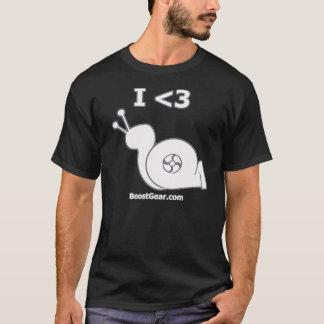 BoostGear - I Heart Turbo Snail T-Shirt