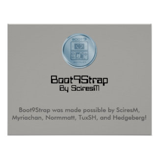 Boot9Strap Installer Poster (Normal)